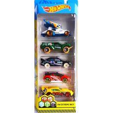پک 5 تایی ماشینهای Hot Wheela مدل Extreme Race, image 1