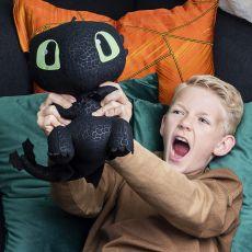 عروسک 25 سانتی پولیشی اژدهای بی دندان  (How to Train your Dragon), image 2