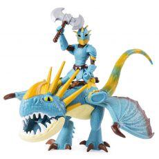 پک دوتایی فیگور اژدها و وایکینگ زره پوش (How to Train your Dragon), image 3