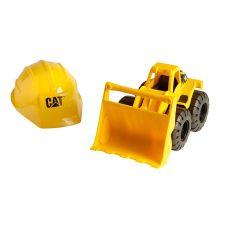 لودر خاک برداری Cat به همراه کلاه, image 1