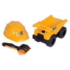 کامیون خاک برداری Cat به همراه کلاه و چنگک, image 1