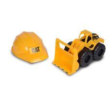لودر خاک برداری Cat به همراه کلاه, image 2