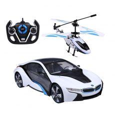 هلیکوپتر و ماشین کنترلی BMW I8, image 1