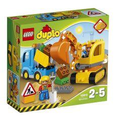 لگو مدل کامیون و بیل مکانیکی سری دوپلو (10812), image 1