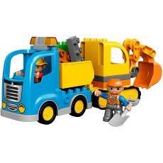 لگو مدل کامیون و بیل مکانیکی سری دوپلو (10812), image 3