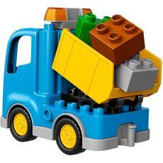 لگو مدل کامیون و بیل مکانیکی سری دوپلو (10812), image 4