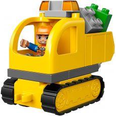 لگو مدل کامیون و بیل مکانیکی سری دوپلو (10812), image 5