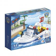 بلاک ساختنی بن بائو مدل قایق موتوری پلیس, image 1