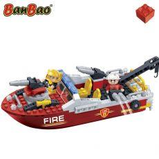 بلاک ساختنی بن بائو مدل قایق آتشنشانی, image 2