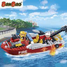 بلاک ساختنی بن بائو مدل قایق آتشنشانی, image 3