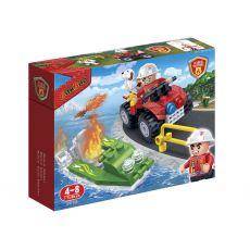 بلاک ساختنی بن بائو مدل موتور چهارچرخ آتشنشانی, image 1