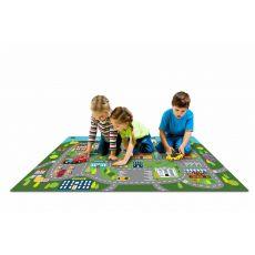 فرش بازی توی توی (مدل 2) به همراه یک عدد ماشین فلزی, image 1