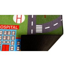 فرش بازی توی توی (مدل 2) به همراه یک عدد ماشین فلزی, image 4
