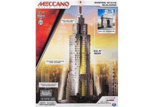 ست ساختنی فلزی 2 در 1 مکانو  Empire State Building, image 1