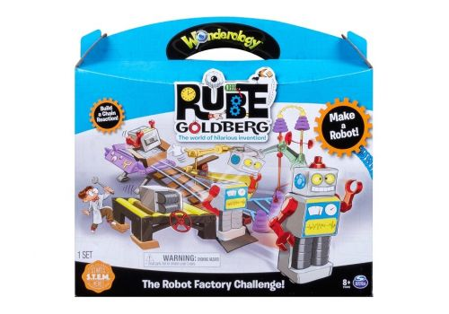 بازی فکری چالش کارخانه روب گلدبرگ (Rube Goldberg), image 1
