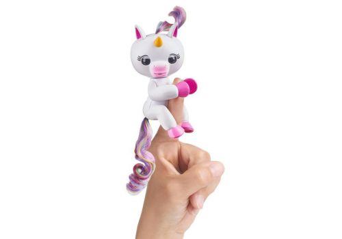 ربات اسب تکشاخ انگشتی فینگرلینگز Fingerlings Baby Unicorn مدل جیگی, image 2