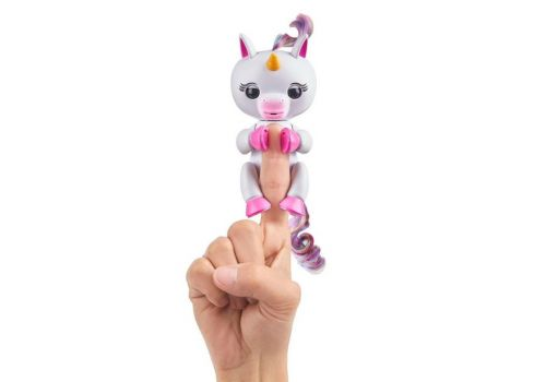 ربات اسب تکشاخ انگشتی فینگرلینگز Fingerlings Baby Unicorn مدل جیگی, image 3