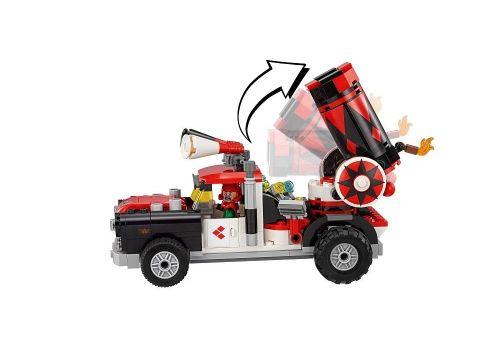 لگو مدل ماشین توپ دار هارلی کویین سری فیلم بتمن (70921), image 3