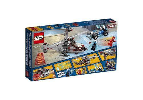 لگو مدل هلیکوپتر فلش و ماشین قاتل یخ زده سری سوپر هیروز (76098), image 2
