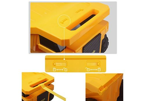 چمدان کاميون تراک – زرد, image 3