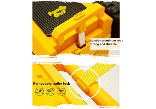 چمدان کاميون تراک – زرد, image 6
