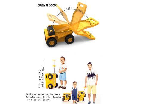 چمدان کاميون تراک – زرد, image 8