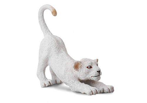 بچه شیر سفید - درحال کشش, image 1
