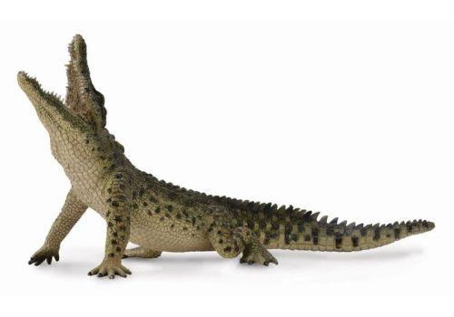 تمساح نيل- در حال جهش - با فک متحرک, image 1