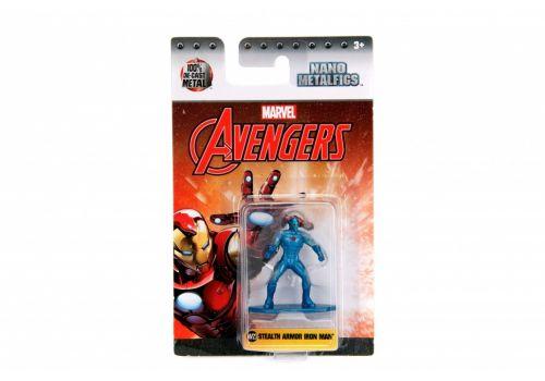 نانو فیگور فلزی آیرون من (Marvel Stealth Armor Iron Man), image 1