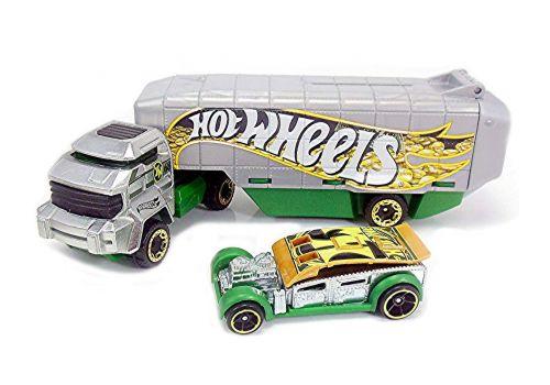 تریلی و ماشین Hot Wheels, image 3
