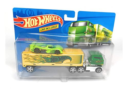 تریلی و ماشین Hot Wheels, image 1