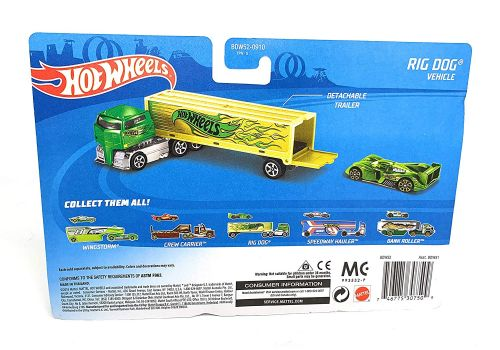 تریلی و ماشین Hot Wheels, image 2