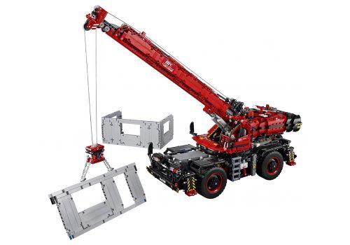 لگو 1×2 مدل جرثقيل Rough Terrain سري تکنيک (42082), image 4