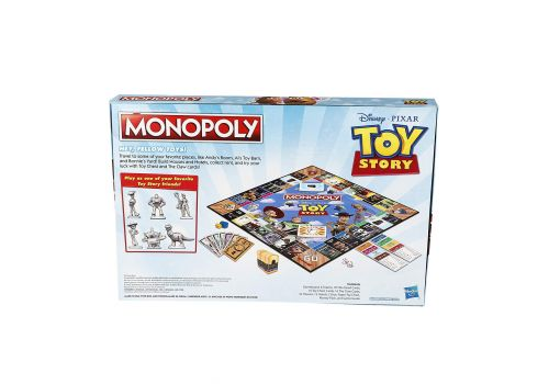 بازی گروهی مونوپولی مدل Monopoly Toy Story, image 2