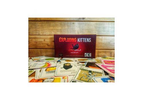 بازی فکری گربههای انفجاری به همراه کارتهای توسعه, image 2