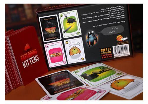 بازی فکری گربههای انفجاری به همراه کارتهای توسعه, image 5
