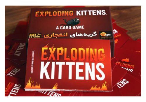 بازی فکری گربههای انفجاری به همراه کارتهای توسعه, image 7